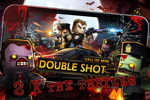 Call of Mini: Double Shot - месиво против зомби в вашем iPhone