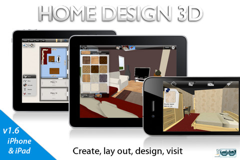 приложение Home Design 3D GOLD by LiveCad