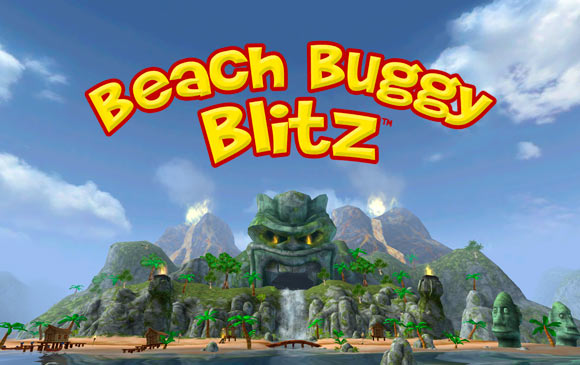 Игра Beach Buggy Blitz.