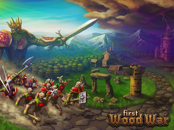 Игра First Wood War.