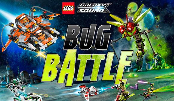 Игра Lego Galaxy Squad Bug Battle.