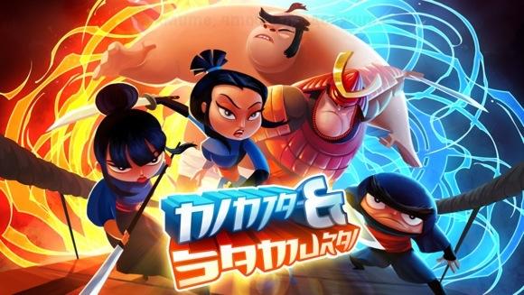 Игра Ninjas vs Samurai.