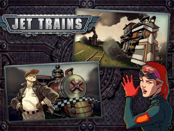 Игра Jet Trains.